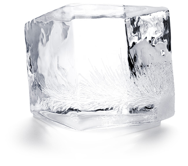 Big & Clear Square Ice Cube - Ideal For Festive Drinks