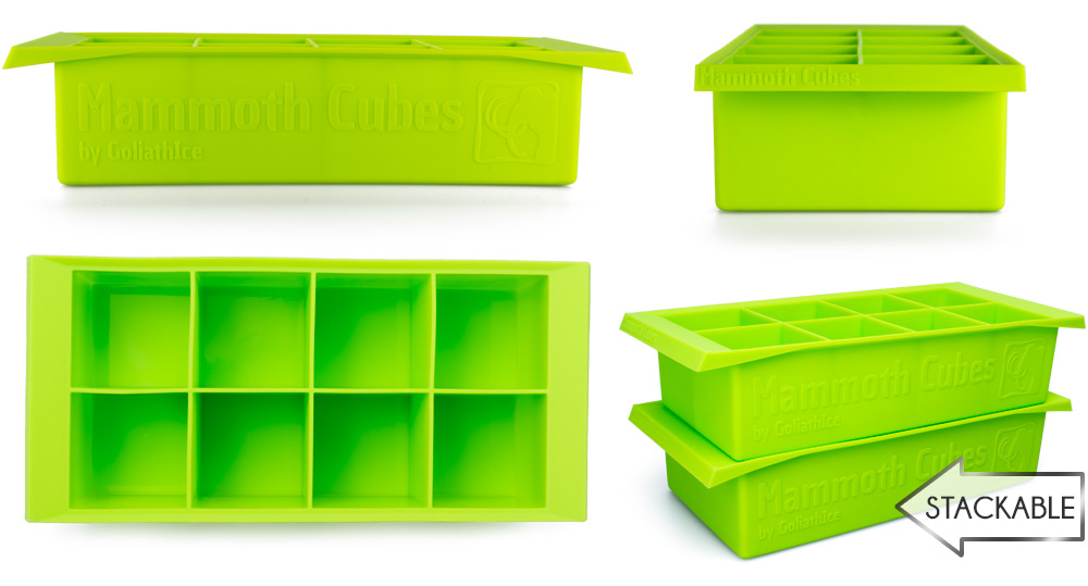 Mammoth Cubes Tray Profiles