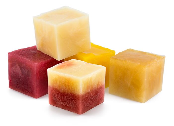 Fruit Juice Cubes